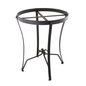 Round Wrought Iron Plant Stand