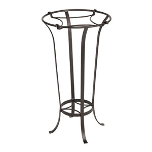 Wrought Iron Tulip Plant Stand