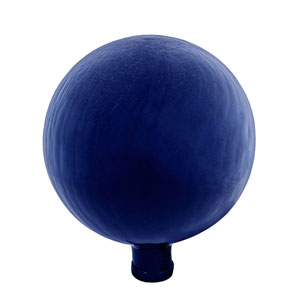 10 Inch Gazing Globe, Blue, Crackle