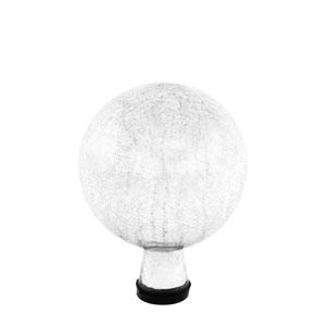 6 Inch Gazing Globe, Silver, Crackle - Globe Only