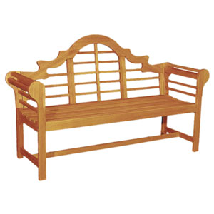 Lutyen Oil Finish 5 Ft. Hardwood Bench