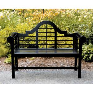 Lutyens Black Bench
