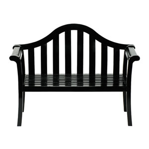 Camelback Black Bench