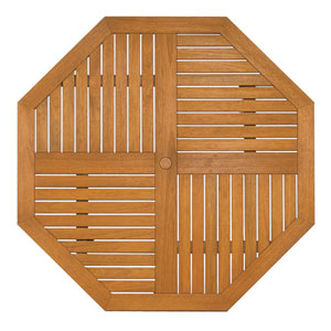 Natural Oil Octagonal Dining Table