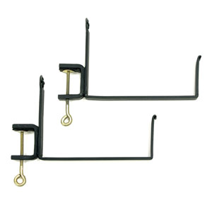 Clamp-On Flower Box Brackets