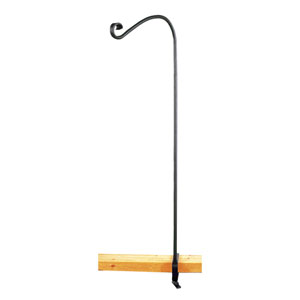 Single Handrail Pole w/ Clamps, 36 Inch