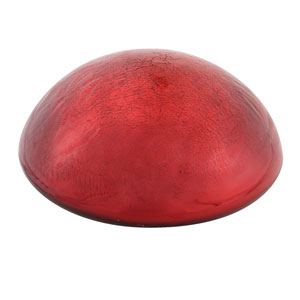 Toad Stool Red Crackle - Stool Only
