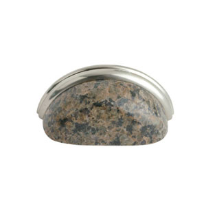 Tropical Brown Granite 3-Inch Cup Pull