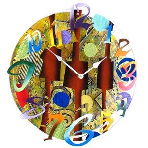 All Time Wall Clock by David Scherer