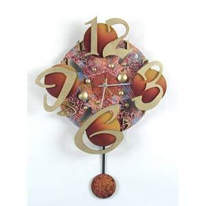 A Wild Time Wall Clock by David Scherer