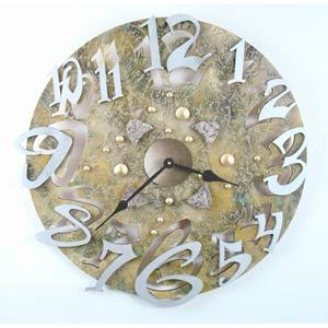 Big Time Stone Wall Clock by David Scherer