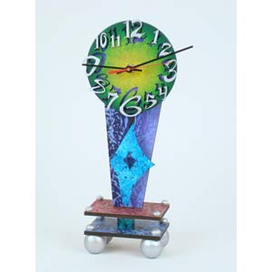 Dial Table Clock by David Scherer