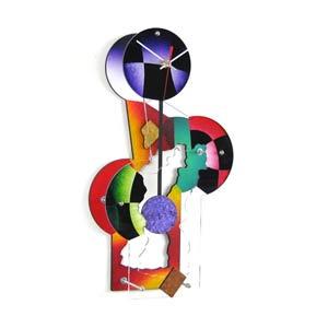 Jester Wall Clock by David Scherer