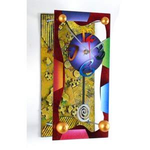 March Jester Wall Clock by David Scherer