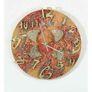 Mod Disk 1 Wall Clock by David Scherer
