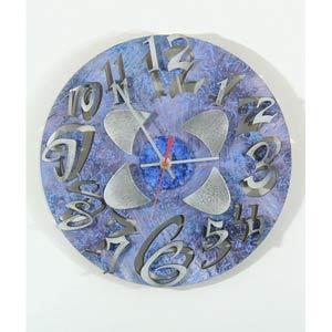 Mod Disk 2 Wall Clock by David Scherer