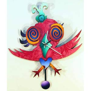 R. Birdie Wall Clock by David Scherer
