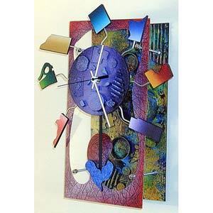 Thursday Wall Clock by David Scherer