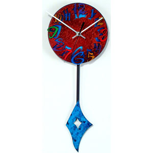 Time E Wall Clock by David Scherer