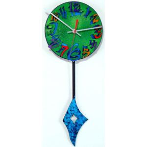Time F Wall Clock by David Scherer