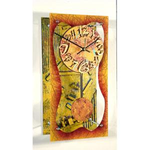 Tuesday Wall Clock by David Scherer