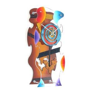 Ultra Hip Wall Clock by David Scherer