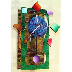 Wednesday Wall Clock by David Scherer