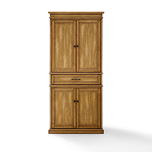 Parsons Natural Solid Hardwood and Veneer Kitchen Pantry Storage