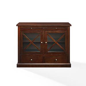 Jackson Mahogany Solid Hardwood and Veneer Cabinet