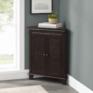 Lydia Espresso Corner Bath Cabinet