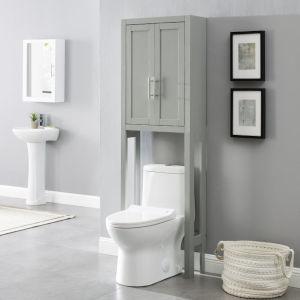Savannah Gray Space Saver Bath Wall Cabinet