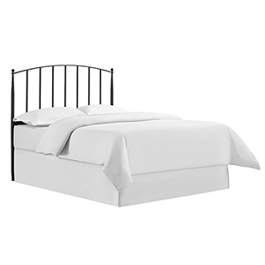 Whitney Black Steel Queen Headboard