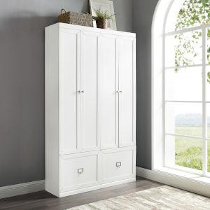 Harper White Pantry Closet, 2-Piece