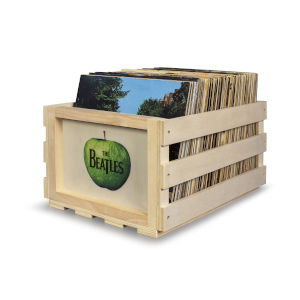 Beatles Apple 14-Inch Record Storage Crate