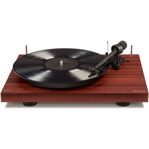 C10 Two Speed Manual Turntable Deck, Mahogany