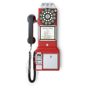 1950s Red Payphone