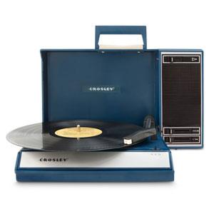 Spinnerette Portable Usb Turntable Blue