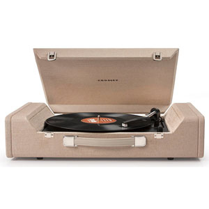 Nomad Brown USB Portable Turntable
