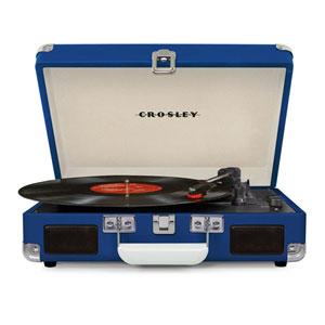 Cruiser Blue Portable Turntable