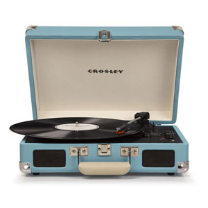 Cruiser Turquoise Portable Turntable