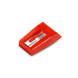 Diamond Stylus Replacement Needle, Red