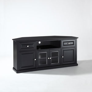60 Inch Corner TV Stand in Black