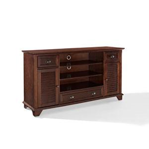 Palmetto Mahogany 60-Inch Full Size TV Stand
