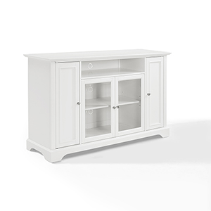 Campbell 60 Inch Tv Stand in White Finish