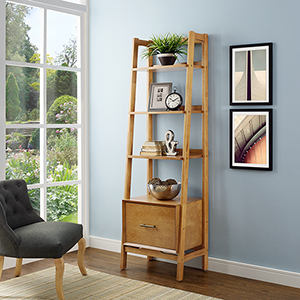 Landon Small Etagere in Acorn