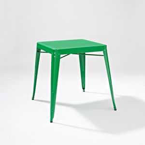 Amelia Metal Cafe Table in Green
