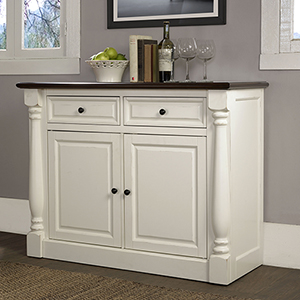 Shelby Buffet in White Finish