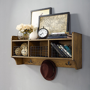Fremont Entryway Shelf in Coffee
