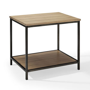 Brooke Washed Oak End Table