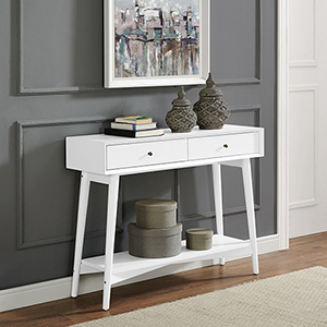 Landon Console Table in White